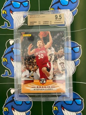 Panini Stephen Curry Rookie RC #372 BGS 9.5