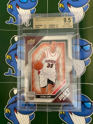 2009-10 Upper Deck UD Draft Edition Stephen Curry Rookie RC BGS 9.5