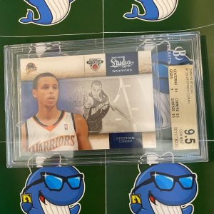 2009-10 Studio Stephen Curry Rookie RC BGS 9.5